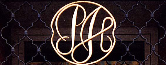 Monogram Ph Pozlaceno
